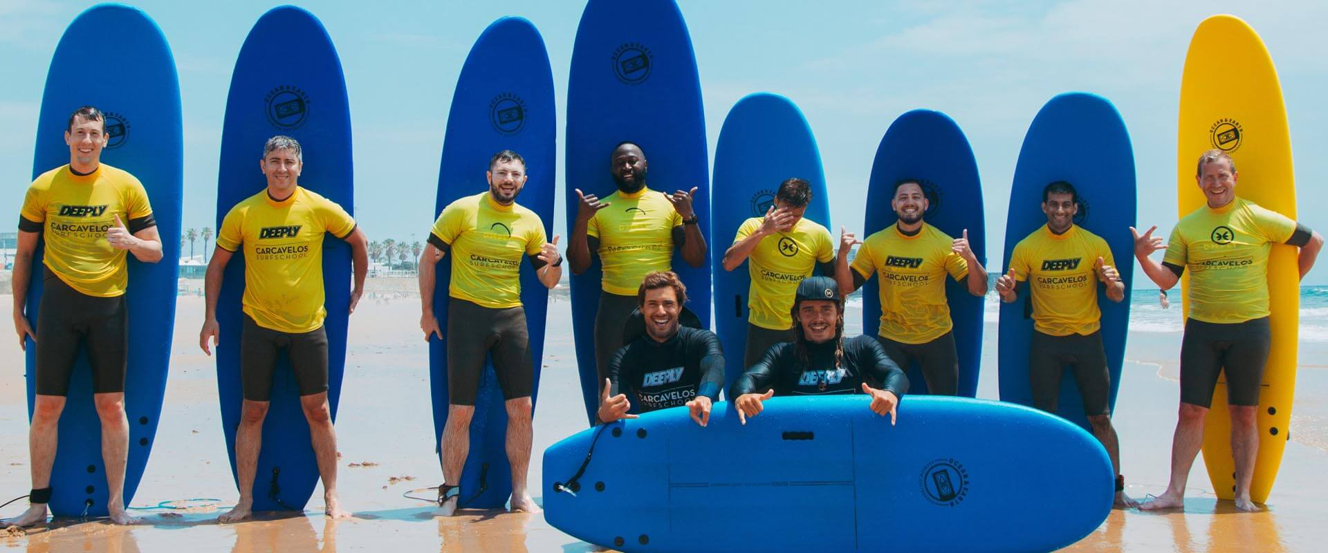 Carcavelos Surf School - our students foto 1