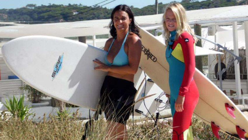 Entrevista - Mãe e filha surfistas