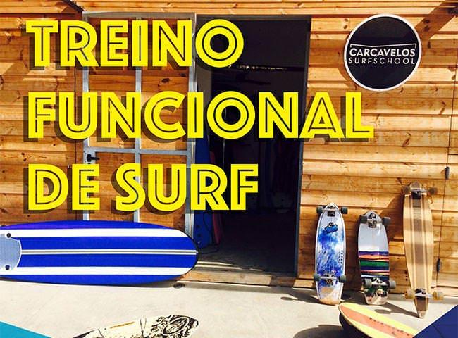 Treino funcional surf